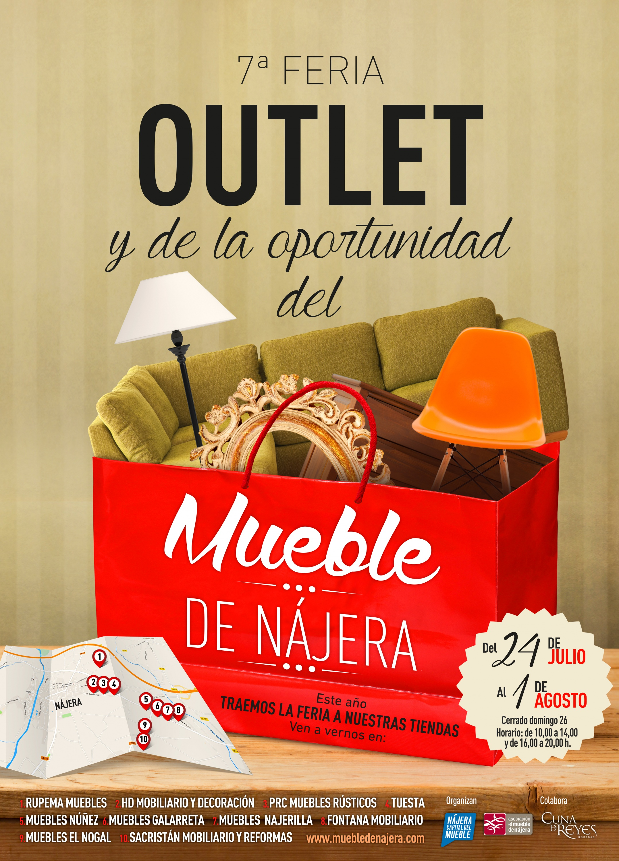 7 feria outlet del mueble de n jera ladinamo for Muebles de najera