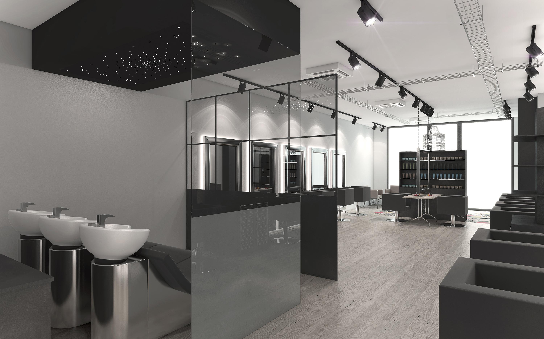 Interiores 3d peluquer a ladinamo for Disenos de espejos para peluqueria
