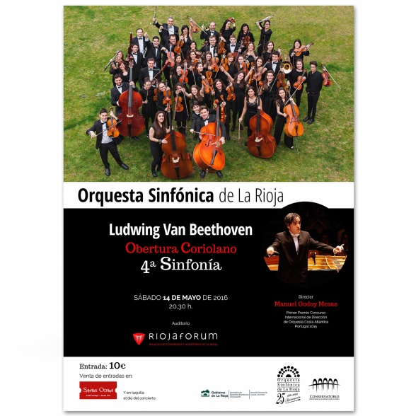 Cartel - Concierto Orquesta Sinfónica
