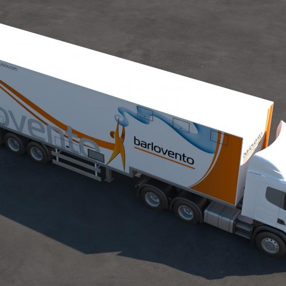 camion arriba 3d