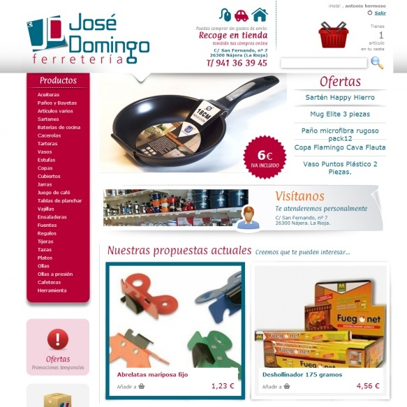 Detalle Ferretería José Domingo
