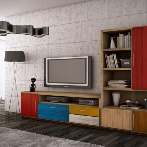 Imágenes 3D para catálogo de Muebles Tuesta