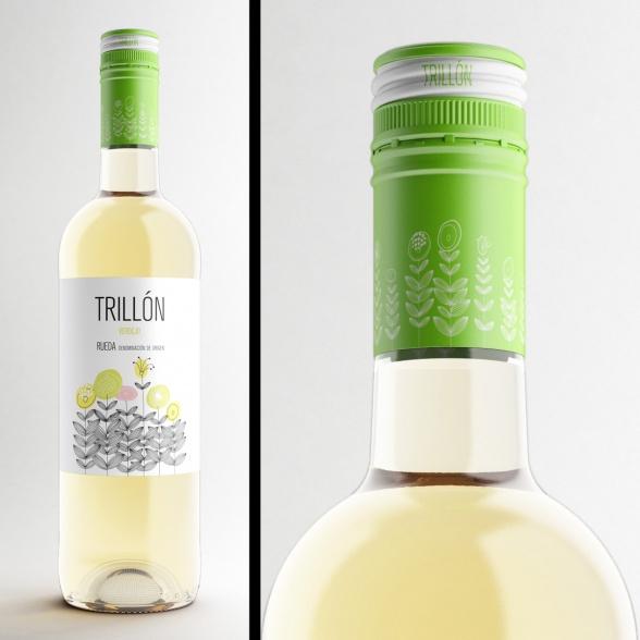 Detalle vino modelado de rosca