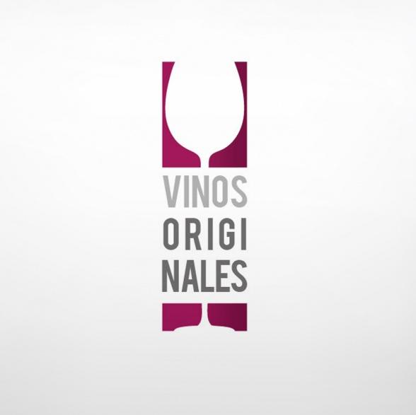 Logotipo Vinos originales