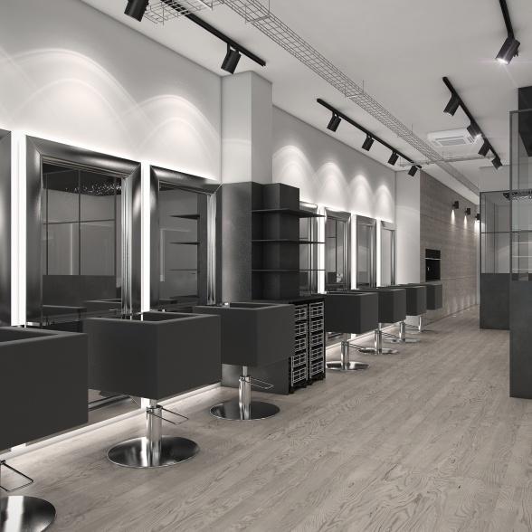 peluquería 3D