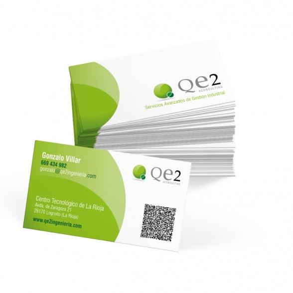 Tarjetas de visita QE2 eConsulting