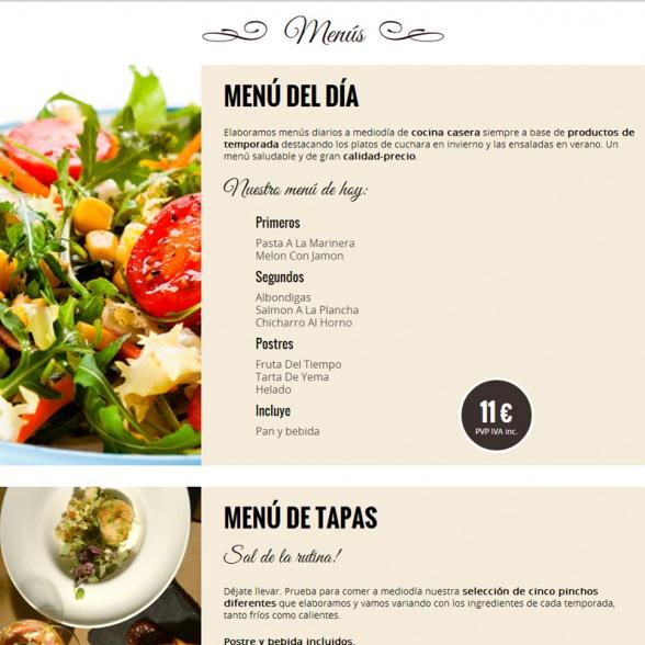 Portal Web y Blog para Cafetería Victoria