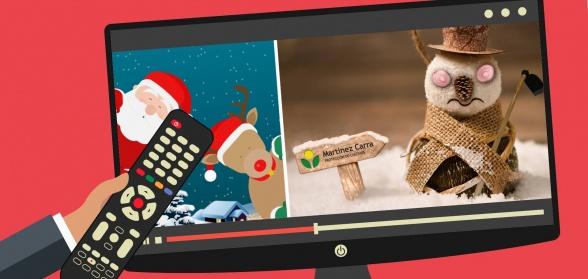 Vídeos corporativos para felicitación de Navidad