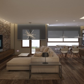 Interiores 3D Reforma Vivienda