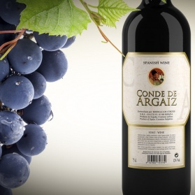 Spot promocional de vino Conde de Argaiz