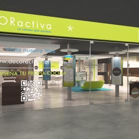 Infografías 3D tiendas ACTIVA-DECORACTIVA-CONNECTA
