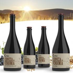 Ceriux Cerveza de Vendimia bodegón