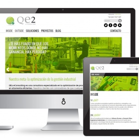 Portal web adaptable para QE2