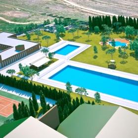 Vídeo arquitectónico reforma de piscinas para concurso