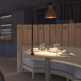 Interiores 3D Restaurante en Barcelona