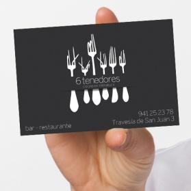6 tenedores