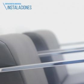 Vídeo corporativo sobre edificio Mutua Universal de Logroño