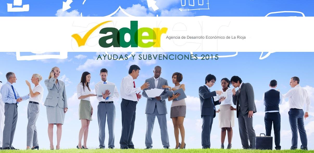 Ayudas ADER 2015