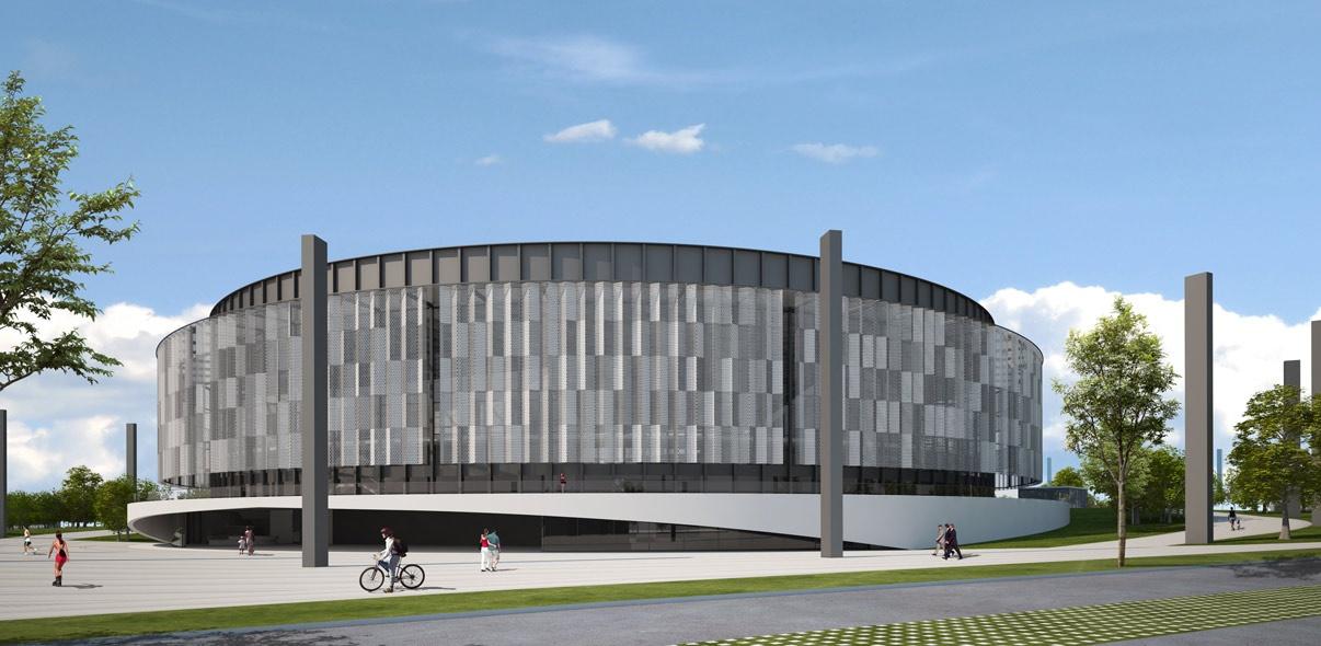 Infoarquitectura 3D Concurso Arena