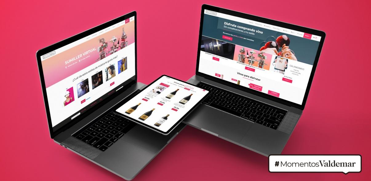 Proyecto web y Tienda Online de Momentos Valdemar