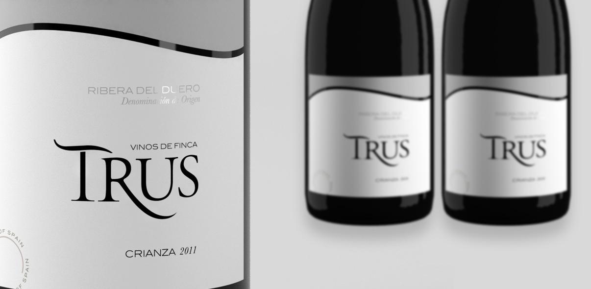 fotografías de botellas para bodegas TRUS
