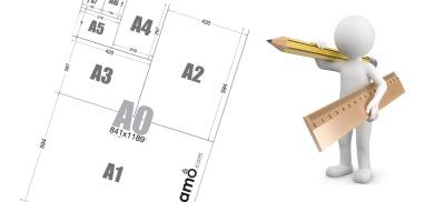 Medidas de Páginas A0, A1, A2, A3, A4, A5, A6, A7 y A8